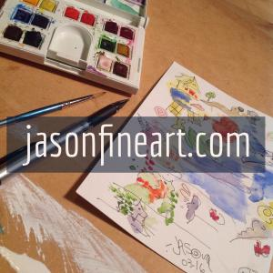 Jason J Nicholas Announces New Online Gallery